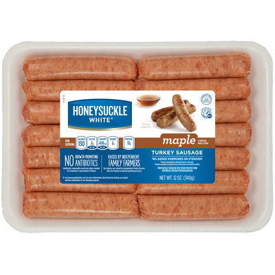 Honeysuckle White® Maple Turkey Sausage Links 12 oz. Tray