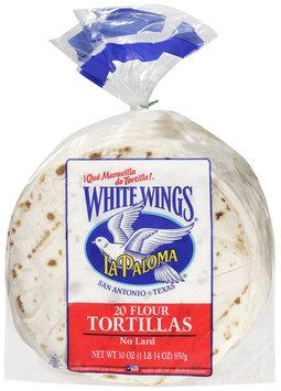 La Paloma® White Wings® Flour Tortillas 20 ct. Bag