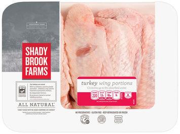 Shady Brook Farms® Turkey Wing Portions  2.12 lb Tray