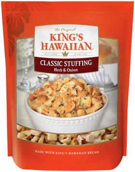 King's Hawaiian® Herb & Onion Classic Stuffing 12 oz. Bag