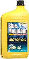 Blue Mountain™ SAE 20W-50 Motor Oil 1 qt. Bottle