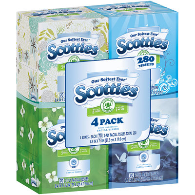 Scotties® Facial Tissues