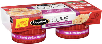 STOUFFER'S CUPS Loaded Cheddar Potato Bake 2-6 oz. Cups