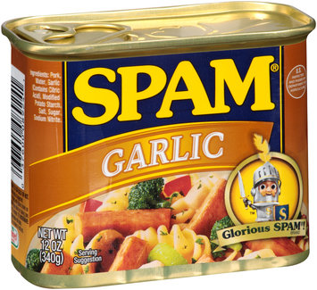 SPAM® Garlic Canned Meat 12 oz. Can