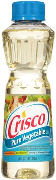 Crisco® Pure Vegetable Oil 16 fl. oz. Bottle