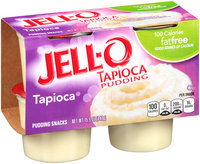 Jell-O Fat Free Tapioca Pudding Snacks 4 ct Pack