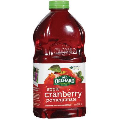 OLD ORCHARD Apple Cranberry Pomegranate Juice Cocktail Blend 64 OZ PLASTIC BOTTLE