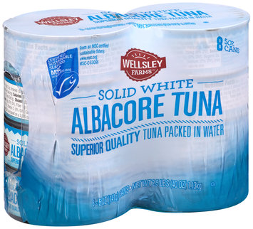 Wellsley Farms™ Solid White Albacore Tuna in Water 8-5 oz. Cans