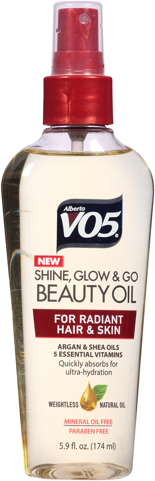 Alberto VO5® Shine, Glow & Go Beauty Oil 5.9 fl. oz. Spray Bottle