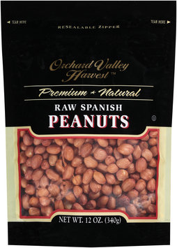 Orchard Valley Harvest™ Raw Spanish Peanuts 12 oz. Stand-Up Bag