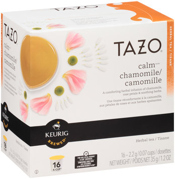 Tazo® Calm™ Chamomile Herbal Tea K-Cups® 16 ct Box