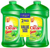 Mr. Clean Multi-Surface Cleaner with Gain Original Fresh Scent Liquid 2-40 fl. oz. Bottles
