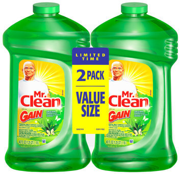 mr clean multi-surface cleaner with gain original fresh scent liquid
