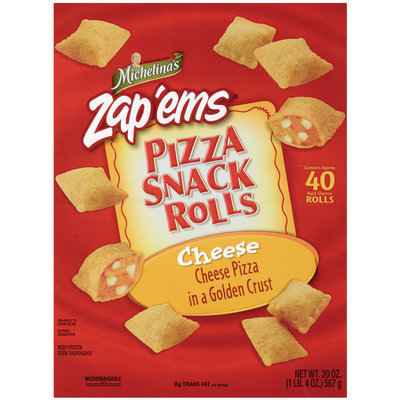 MICHELINA'S SNACK ROLLS Cheese Pizza Snack Rolls 20 OZ BAG