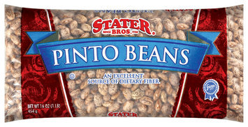 Stater Bros. Pinto Beans 16 Oz Bag