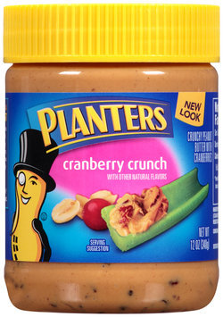 Planters Cranberry Crunch Peanut Butter Jar