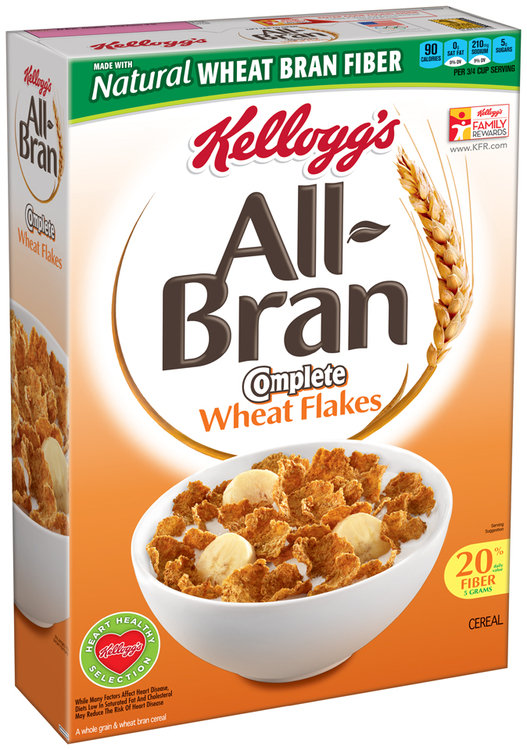Kellogg's® All-Bran® Complete® Wheat Flakes Cereal