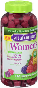 Vitafusion™ Women's Natural Berry Flavors Complete Multivitamin Gummies Dietary Supplement 220 ct Bottle
