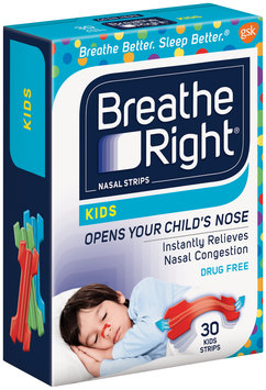 Breathe Right® Kids Nasal Strips 30 ct Box