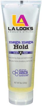 LA Looks™ Mega Mega Hold Level 9 Hold Hair Gel 8 oz. Tube