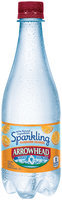 Arrowhead® Sparkling Mandarin Orange Mountain Spring Water 0.5L Plastic Bottle
