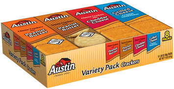 Austin® Variety Pack™ Crackers 8 ct Tray