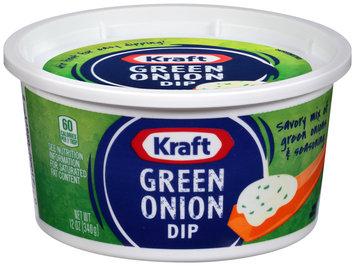 Kraft Green Onion Dip 12 oz. Tub