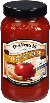 Dei Fratelli® Three Cheese Pasta Sauce 24 oz. Jar