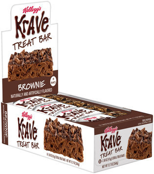 Kellogg's Krave® Treat Bars Brownie Single Serve 8-1.58 oz. Cereal Bars