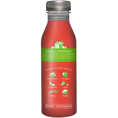 True Grimmway Farms™ Organic Bananaberry Crush™ Juice 12 fl. oz. Bottle