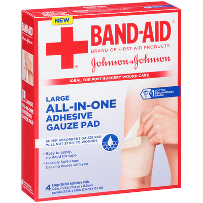 Band-Aid® Large All-In-One 4.5