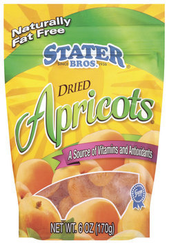 Stater Bros. Dried Apricots 6 Oz Peg