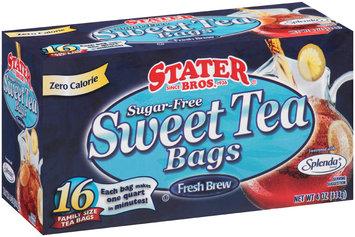Stater Bros.® Sugar-Free Sweet Tea Bags 16 ct Box