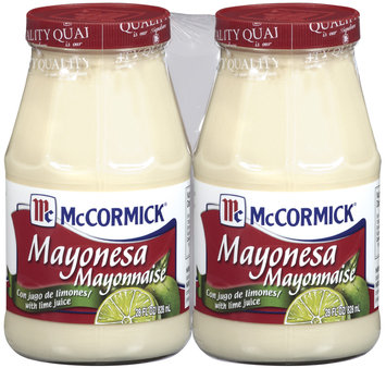 McMex Mayonesa W/Lime Juice 28 Oz Jar Mayonnaise 2 Ct Pack