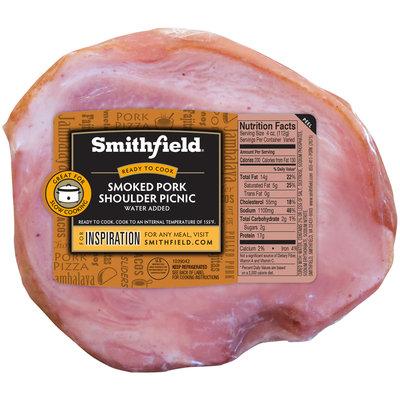 Smithfield® Smoked Pork Shoulder Picnic Half Tray