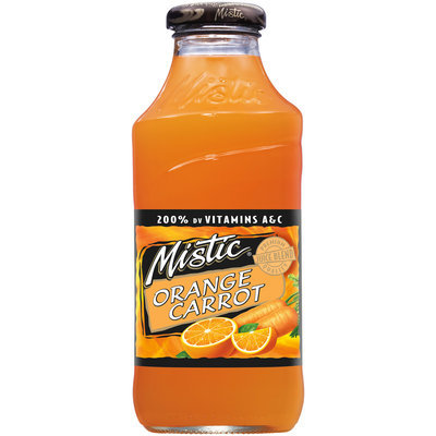Mistic® Orange Carrot Juice Drink 16 fl. oz. Bottle