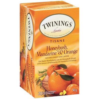 Twinings® Of London Honeybush, Mandarin & Orange Herbal Tea 20 ct Box
