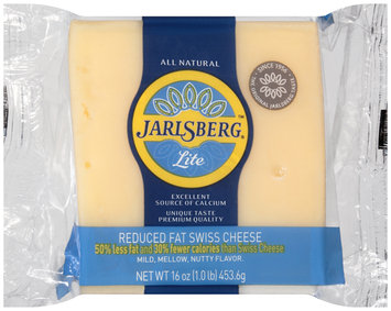 Jarlsberg® Lite Reduced Fat Swiss Cheese 16 oz. Chunk, Exact Weight, Club