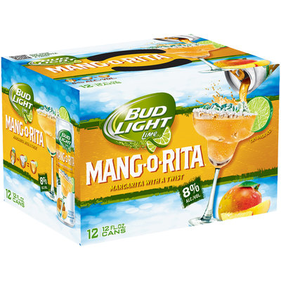 Bud Light® Mang-O-Rita® 12-12 fl. oz. Cans