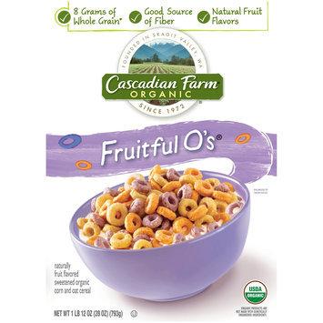 Cascadian Farm™ Organic Fruitful O's™ Cereal 28 oz. Box