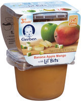 Gerber 3rd Foods Banana Apple Mango with Lil' Bits 2-5 oz. Packs