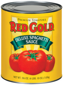 Red Gold Deluxe Spaghetti Sauce 106 Oz Can