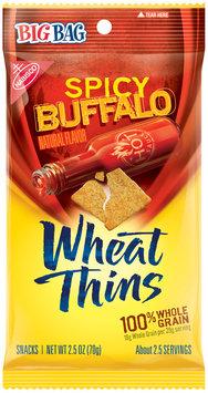 Nabisco Wheat Thins Spicy Buffalo Snacks 2.5 oz. Bag
