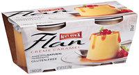 Kozy Shack® Creme Caramel Flan 2 ct Cups
