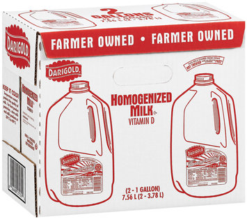 Darigold Homogenized Vitamin D 1 Gal Milk 2 Ct Box