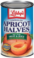 Libby's® Unpeeled In Pear Juice Apricot Halves 15 Oz Can