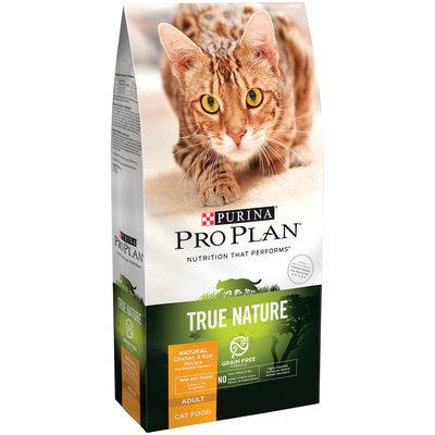 Purina Pro Plan True Nature Adult Grain Free Formula Natural Chicken & Egg Recipe Cat Food 3.2 lb. Bag