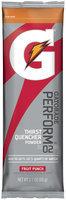 Gatorade G Series Perform Fruit Punch Sports Drink Powder 2.1 Oz Stick