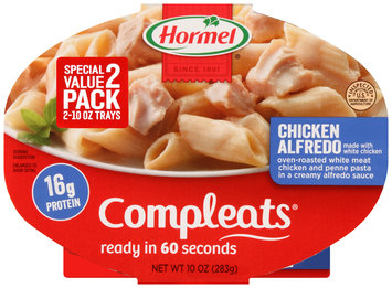 Hormel® Chicken Alfredo Compleats™ 2-10 oz. Sleeves