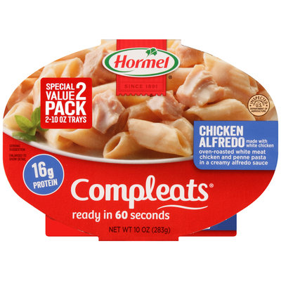Hormel® Chicken Alfredo Compleats™ 2-10 oz. Sleeves